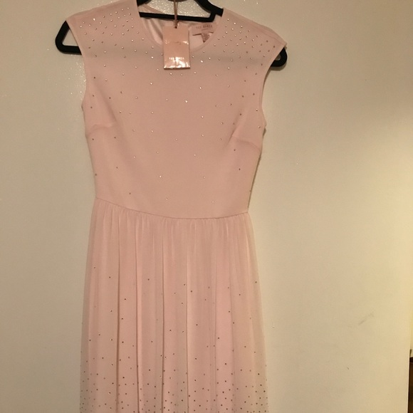 Ted Baker London Dresses & Skirts - Light pink Ted Baker dress size 0 - worn once